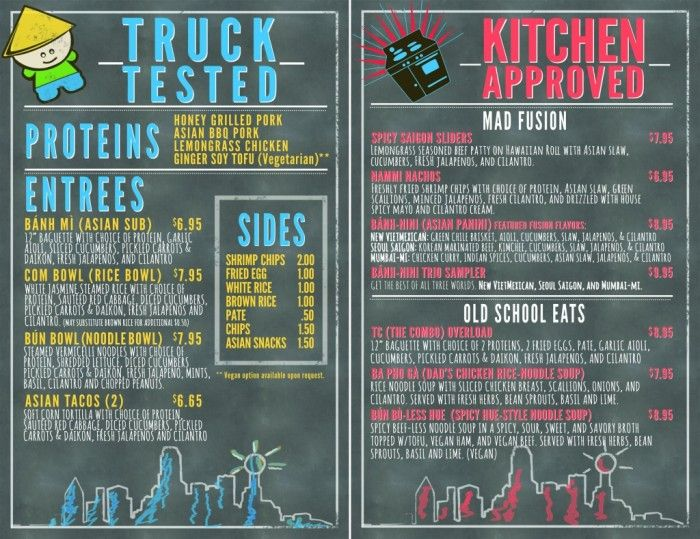 What S In A Food Truck Menu Item Name Everything Your New Is Called Will Have Huge Effect On How Well It