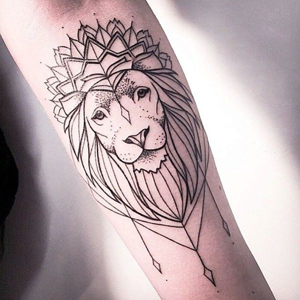 A lion with the crown of the King of the forest and attitude in his eyes symbolizes the ultimate confidence and power that the lion holds. If you think you are a king in yourself then this tattoo will tell the world about your confidence, self-obsessed power and inner strength.