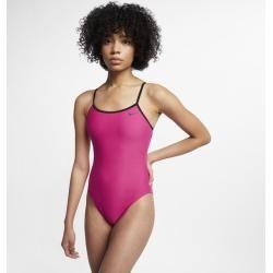 Photo of Costume intero Nike Swim Solid Crossback Cut-Out da donna – Rosa NikeNike