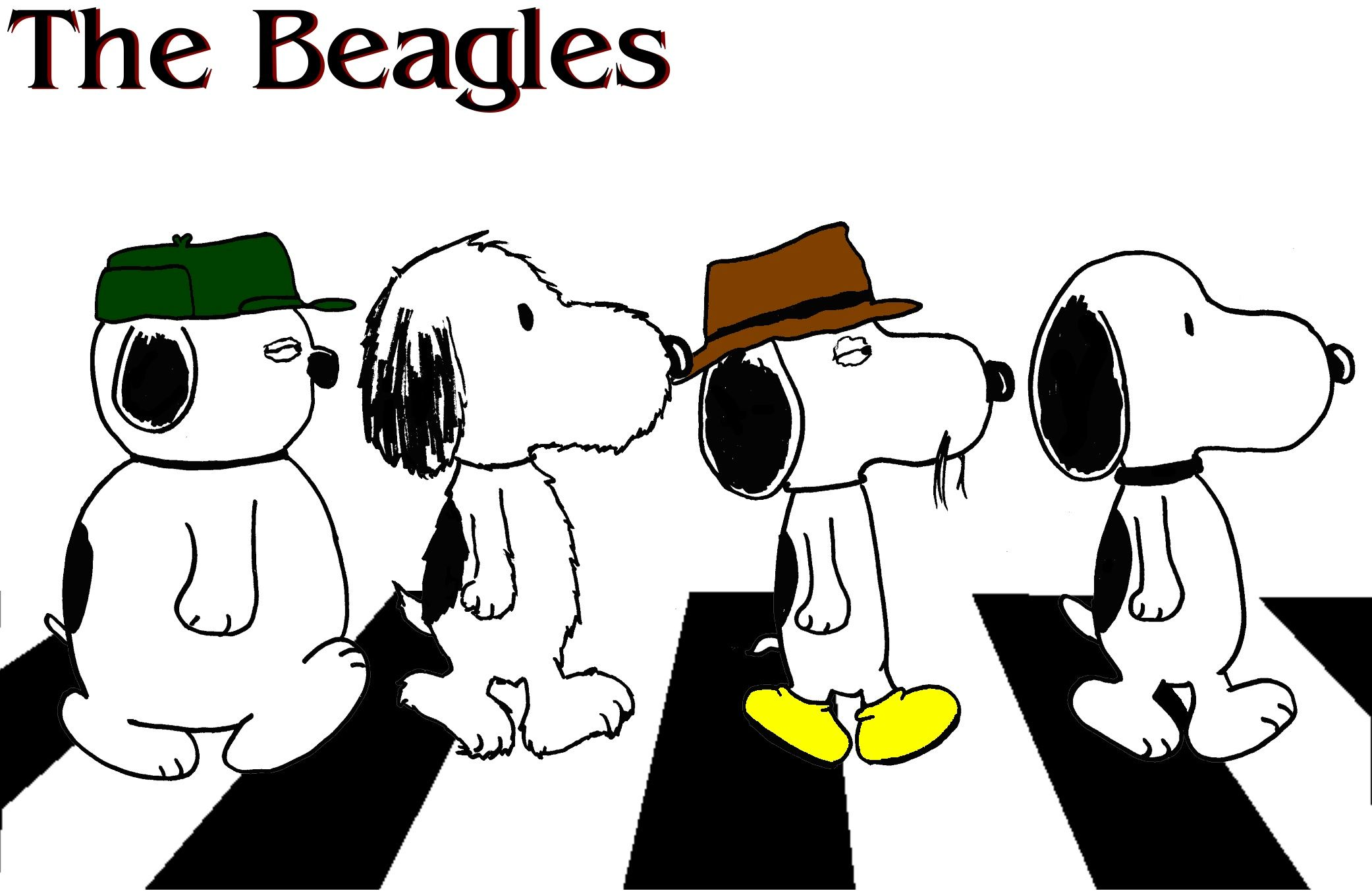 Snoopy And 3 Of His Brothers With Images Snoopy Family