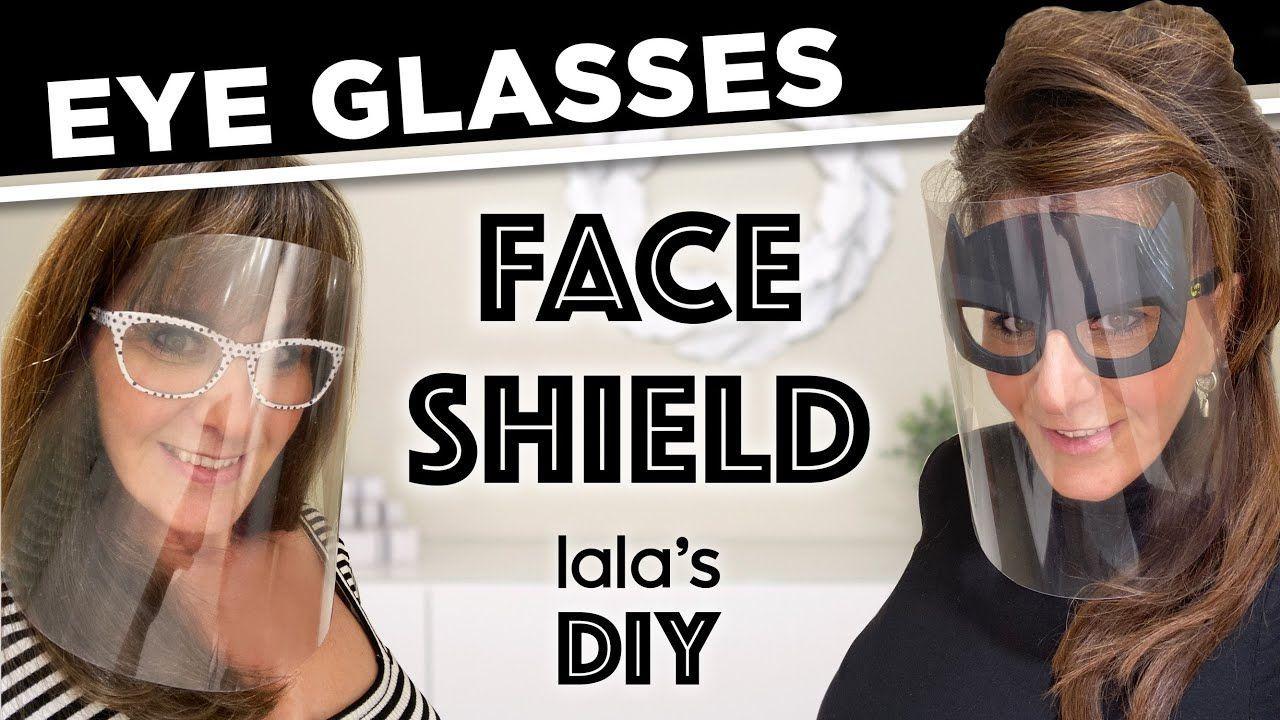Glasses visor Face protection / Masks for Glasses Easy DIY