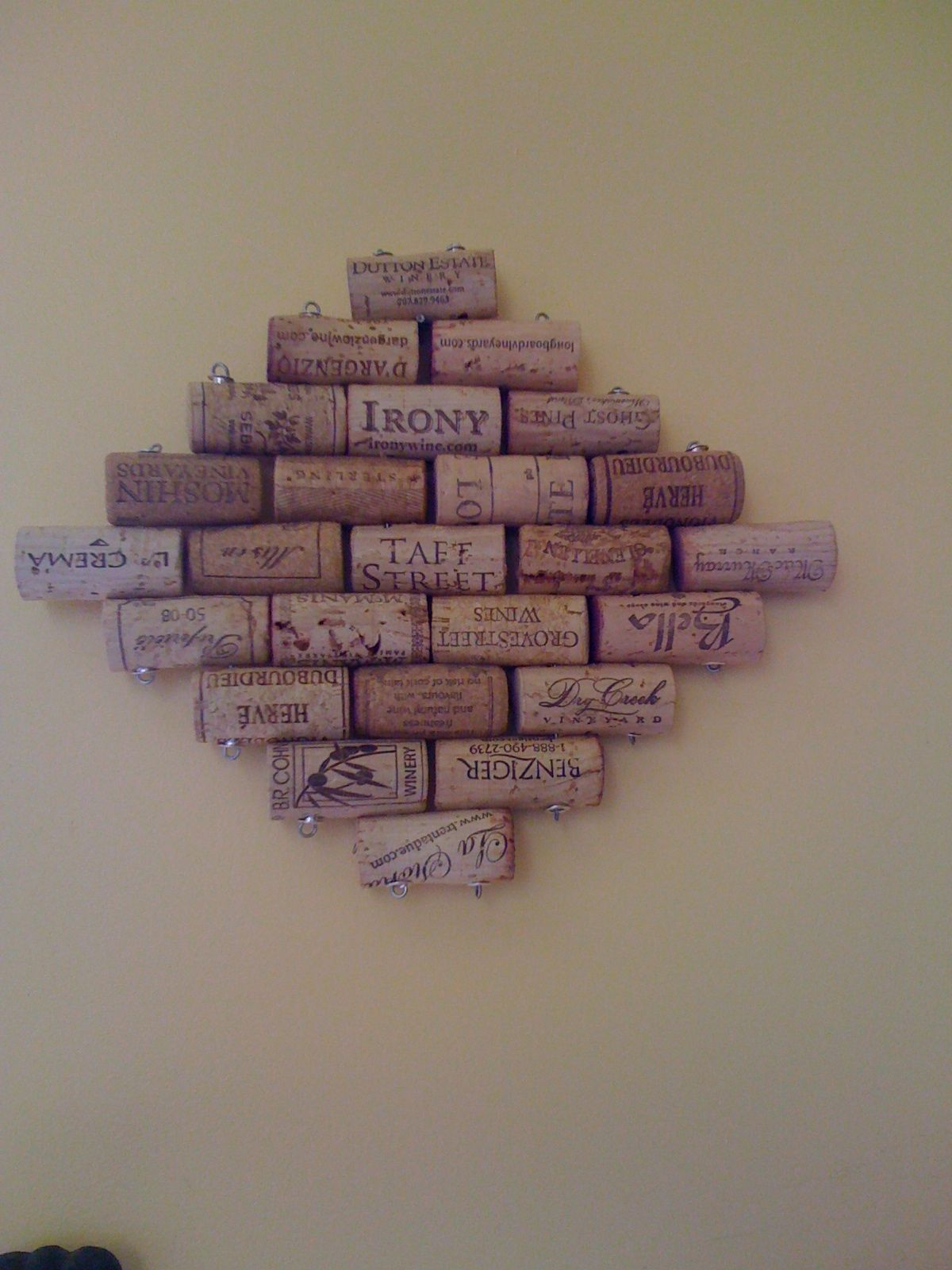 Here Is How I Make A Cork Doormat Using Wire