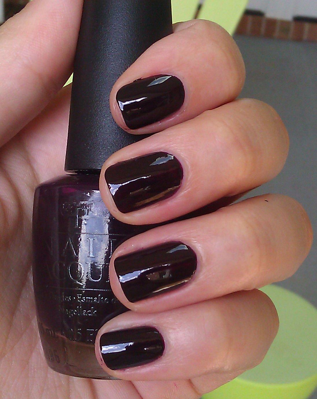 OPI Lincoln Park After Dark | Swap List | Beauty nails, Nail polish ...