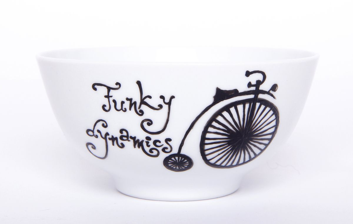 hand painted with non toxic special porcelain paint, burnt in oven for rezistance - facebook.com