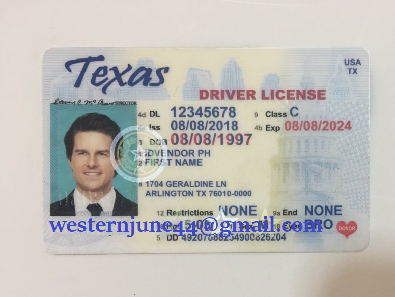 New Mexico Drivers License Documents