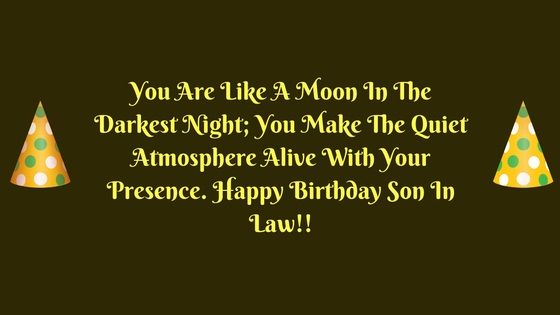 Birthday wishes son law birthday wishes for son in law pinterest birthday wishes son law m4hsunfo