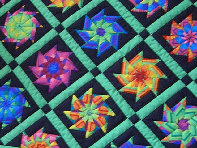 Whack A Stack Kaleidoscope? EASY & FUN Videos - Keeping u n ... : stack and whack quilt tutorial - Adamdwight.com