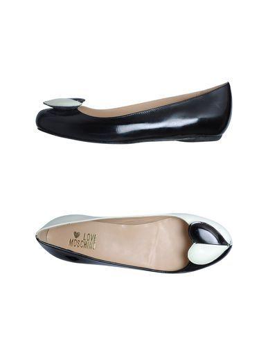 dd35bf8107 Women Yoox Ballet Flats Love Footwear On Moschino 1qFgRg