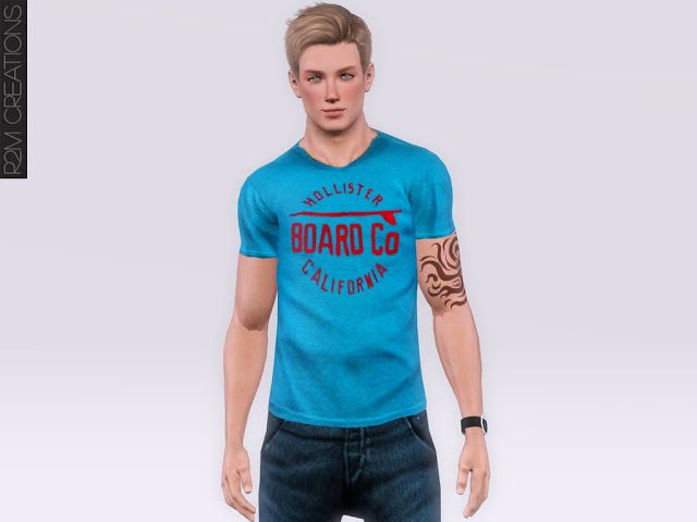 Hollister's shirt for male - R2M Creations