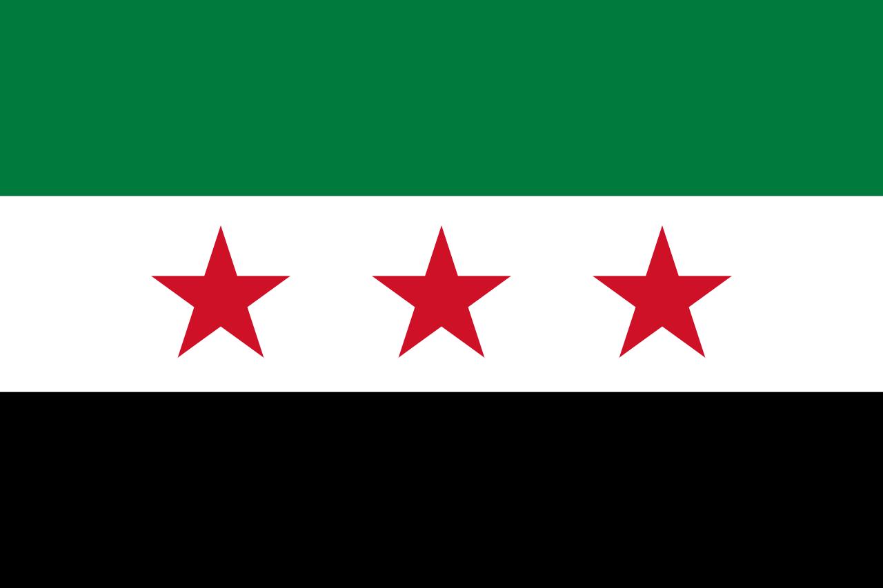 Flag Of Syria Wikipedia Syria Flag Flag Greece Today