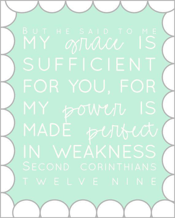 2 corinthians 12:9.