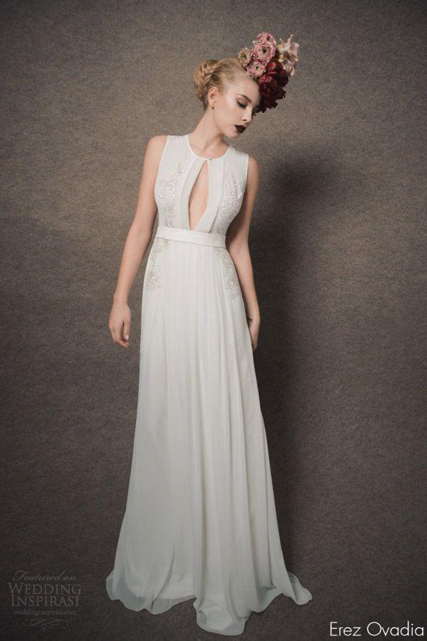 Erez Ovadia 2015 Wedding Dresses — Blossom Bridal Collection   Wedding Inspirasi