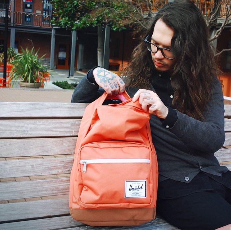 Herschel Supply Co Seventeen Hip Pack Apricot Brandy