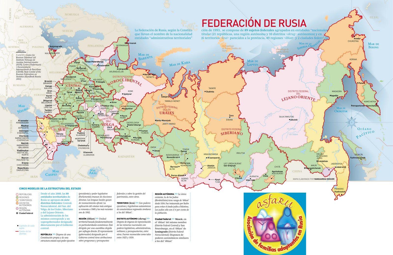 Mapa Politico De Rusia Actual.Resultado De Imagen Para Rusia Mapa Politico Rusia Mapa
