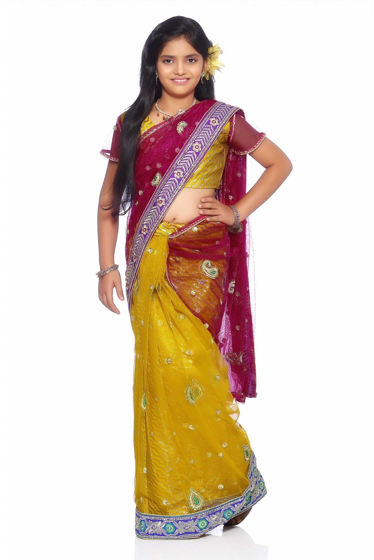 Yellow colour saree images net party wear saree in yellow colour  saree party wear sarees and