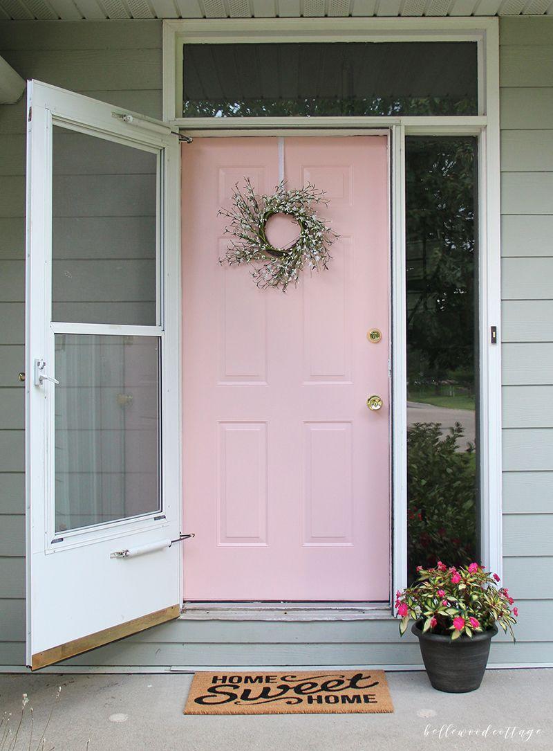 12 Painted Pink Door Ideas So Cute Pink Door Ideas Lolly