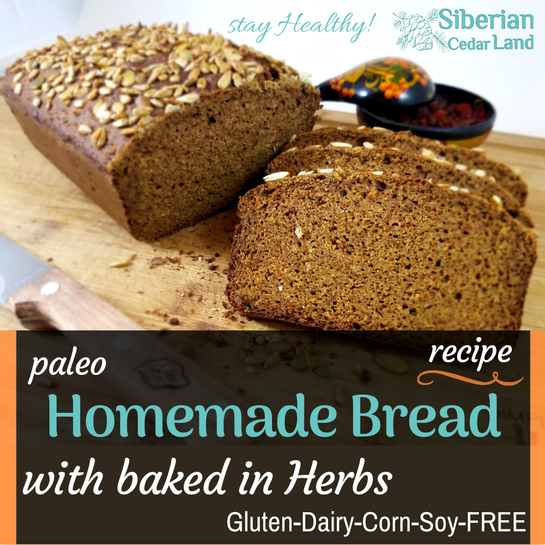 Herbal Bread Recipe Paleo Gfcfsf Recipe Recipes Bread Rye Bread Recipes