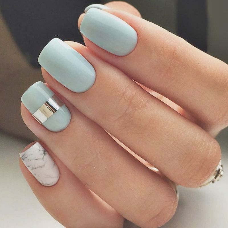 45 Classy Spring Nail Color Designs for Your Exceptional ...