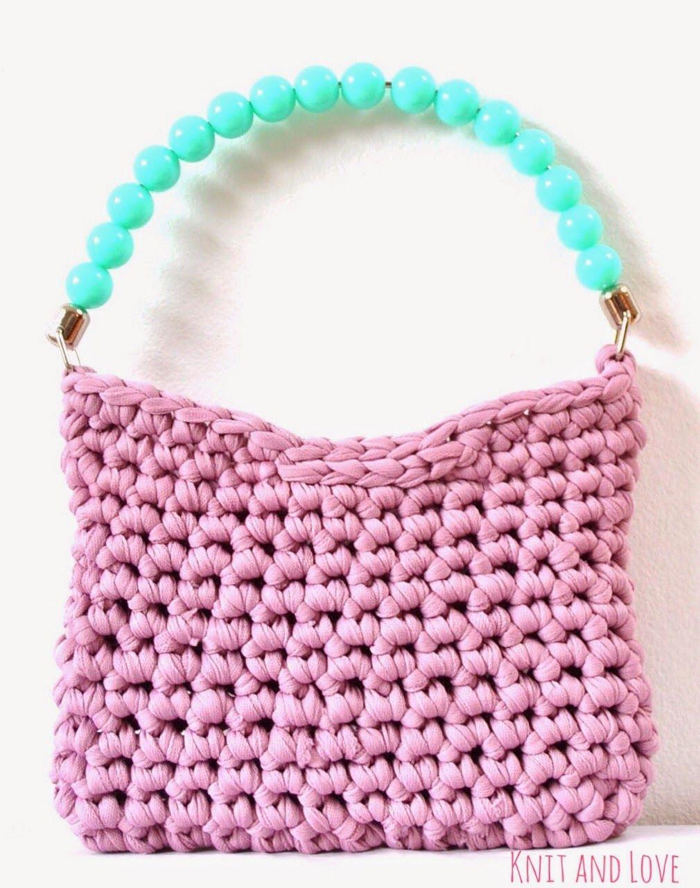 BOLSO SONRISA / Knit and Love