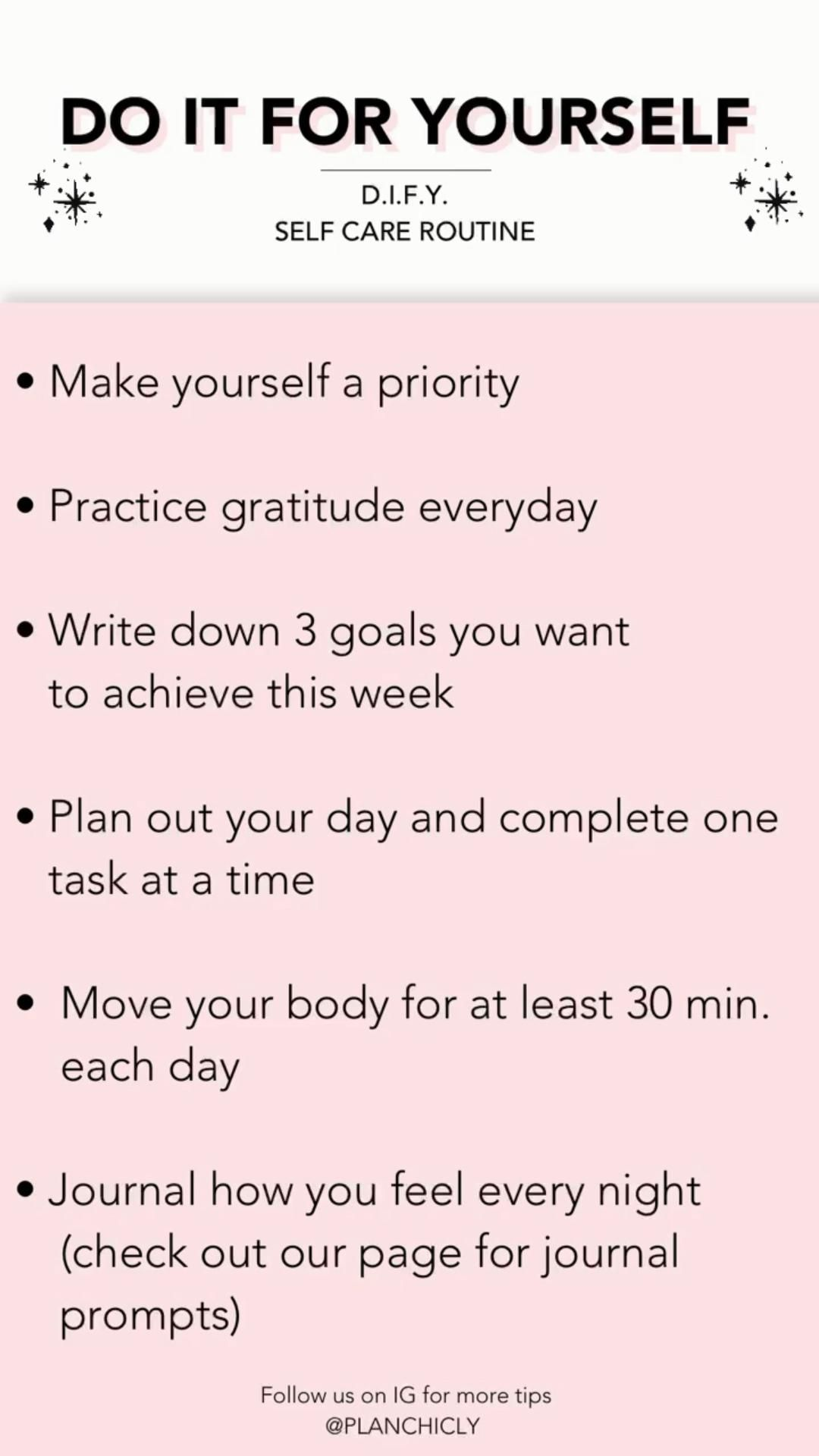 Daily Self Care Routine: Do It For Yourself