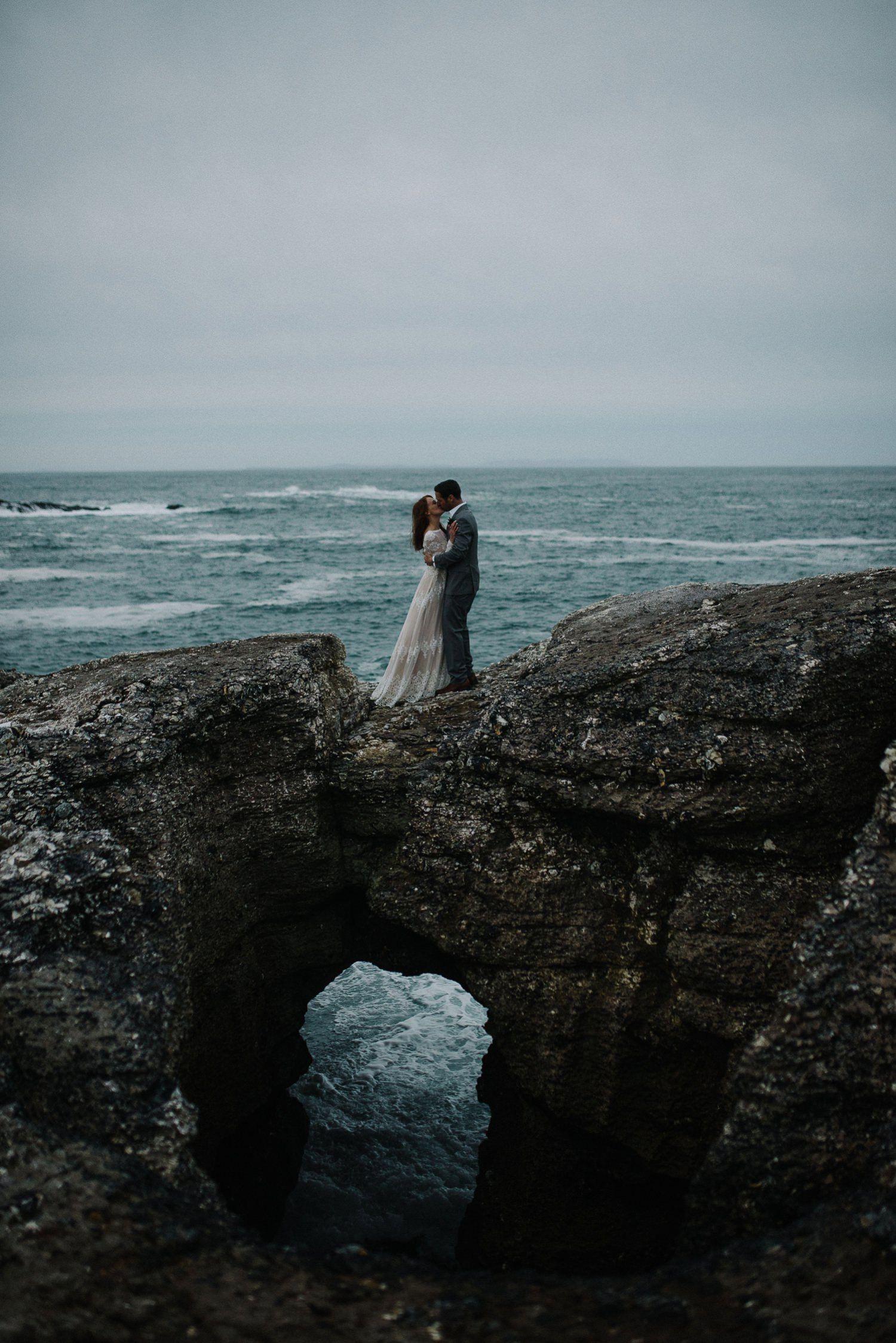 Dave Morgan Dunluce Castle Elopements Ireland Wedding