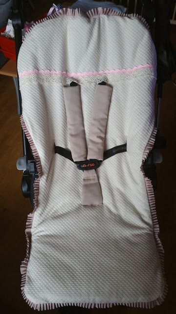 #saco para sillita #nurse de #jané #hechoamano #handmade #silladepaseo #telas #piqué #sacosparaelfrio