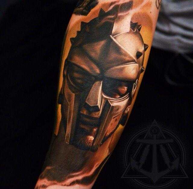 Warrior Movie Fight Scene: Gladiator Tattoo On The Arm