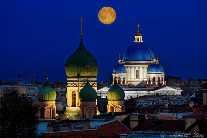 Троице-Измайловский собор и Исидоровская церковь