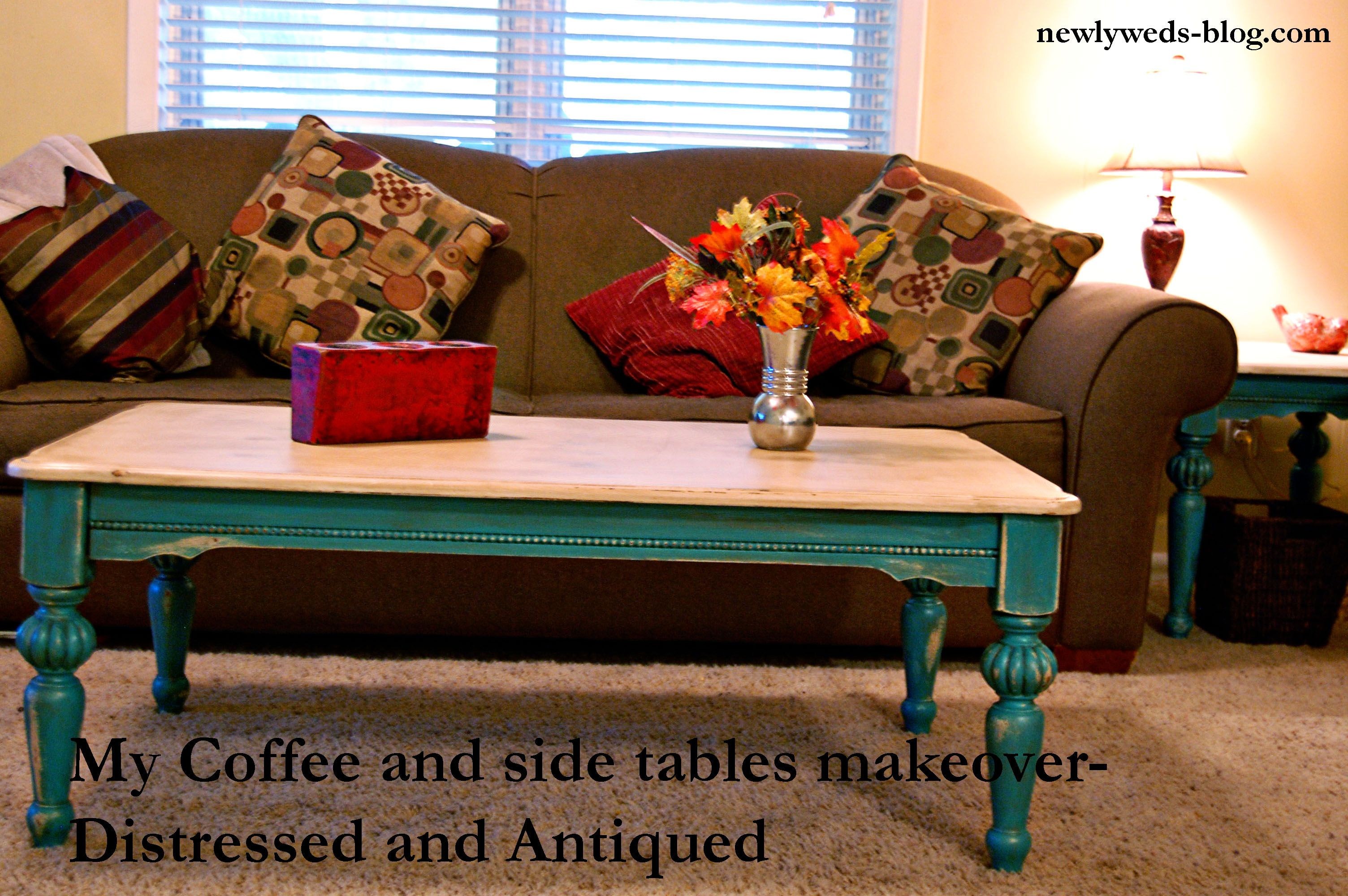 Room Distressed And Antique Coffee Table