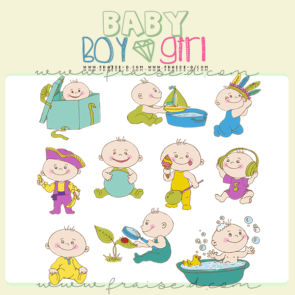 طرح ادوات متنوعه تساعد في تصميم ثيمات الحفلات مجتمع فرايز فسحة سماوية وحكاوي رايقة سكرابز اطفال Doodle Baby Cute Doodles Doodles