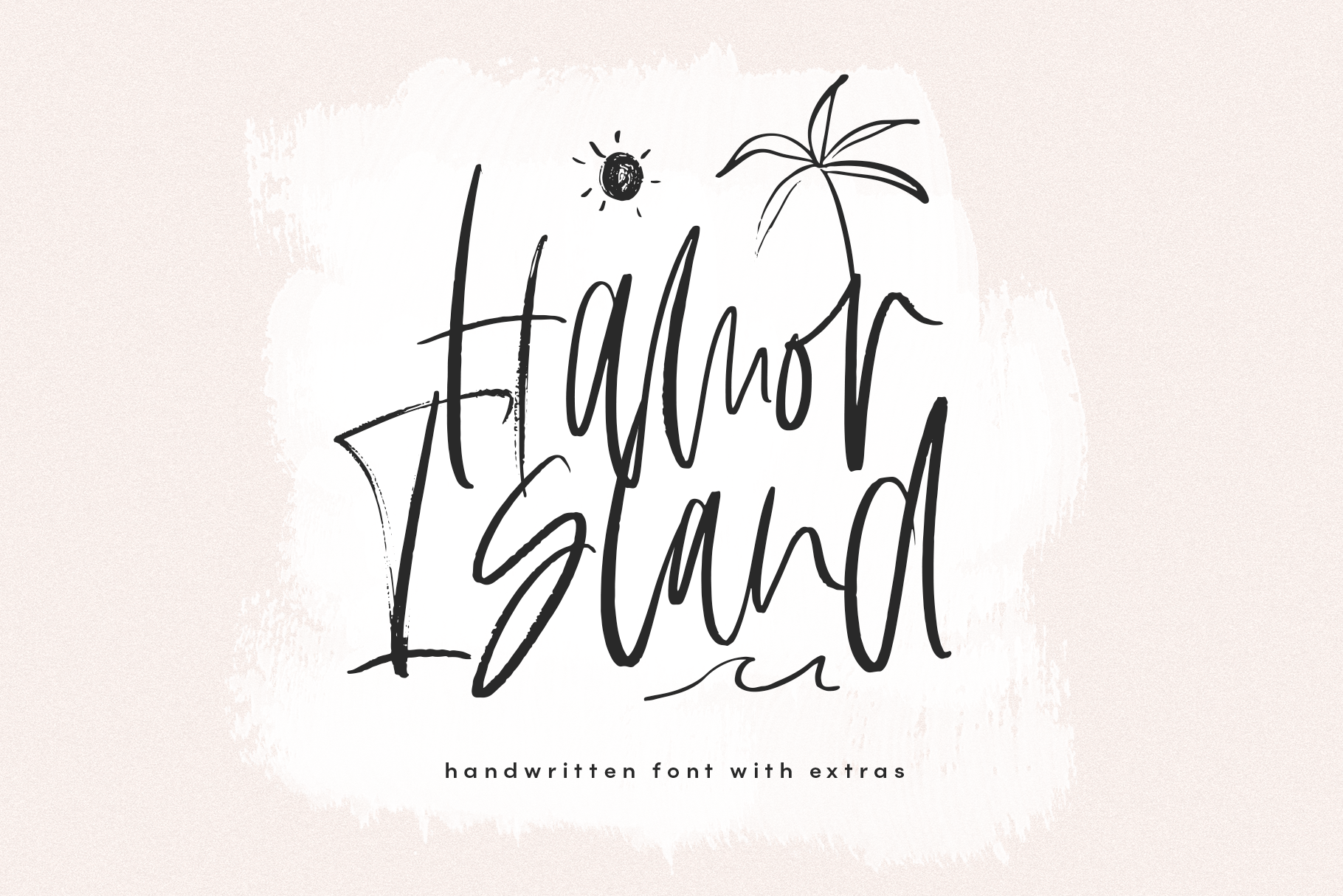 Hamor Island Handwritten Script Font With Extras 269785 Regular Font Bundles Handwritten Script Font Script Fonts Fonts