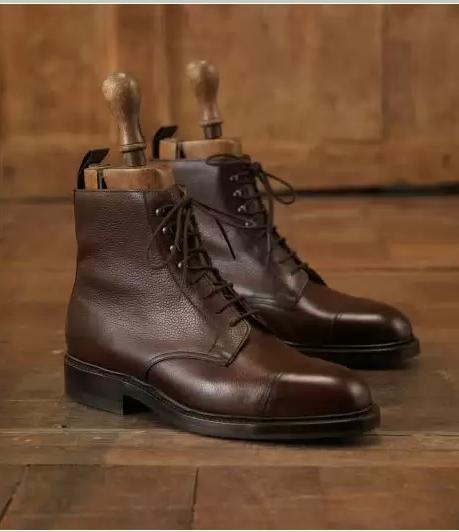 Crockett & Jones Boots Coniston scotch grain leather tYgLVZOBB