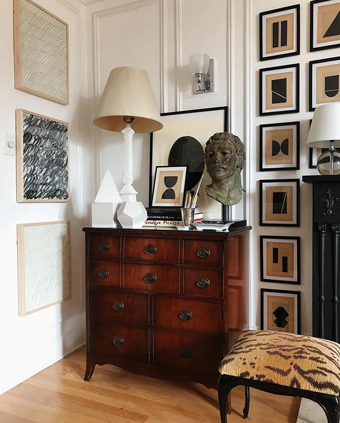 Photo of La Sofisticata Chicago Home di Josh Young. {Décor Inspiration. At Home With: Josh Young, Chicago}