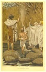 Tissot: Baptism of Jesus