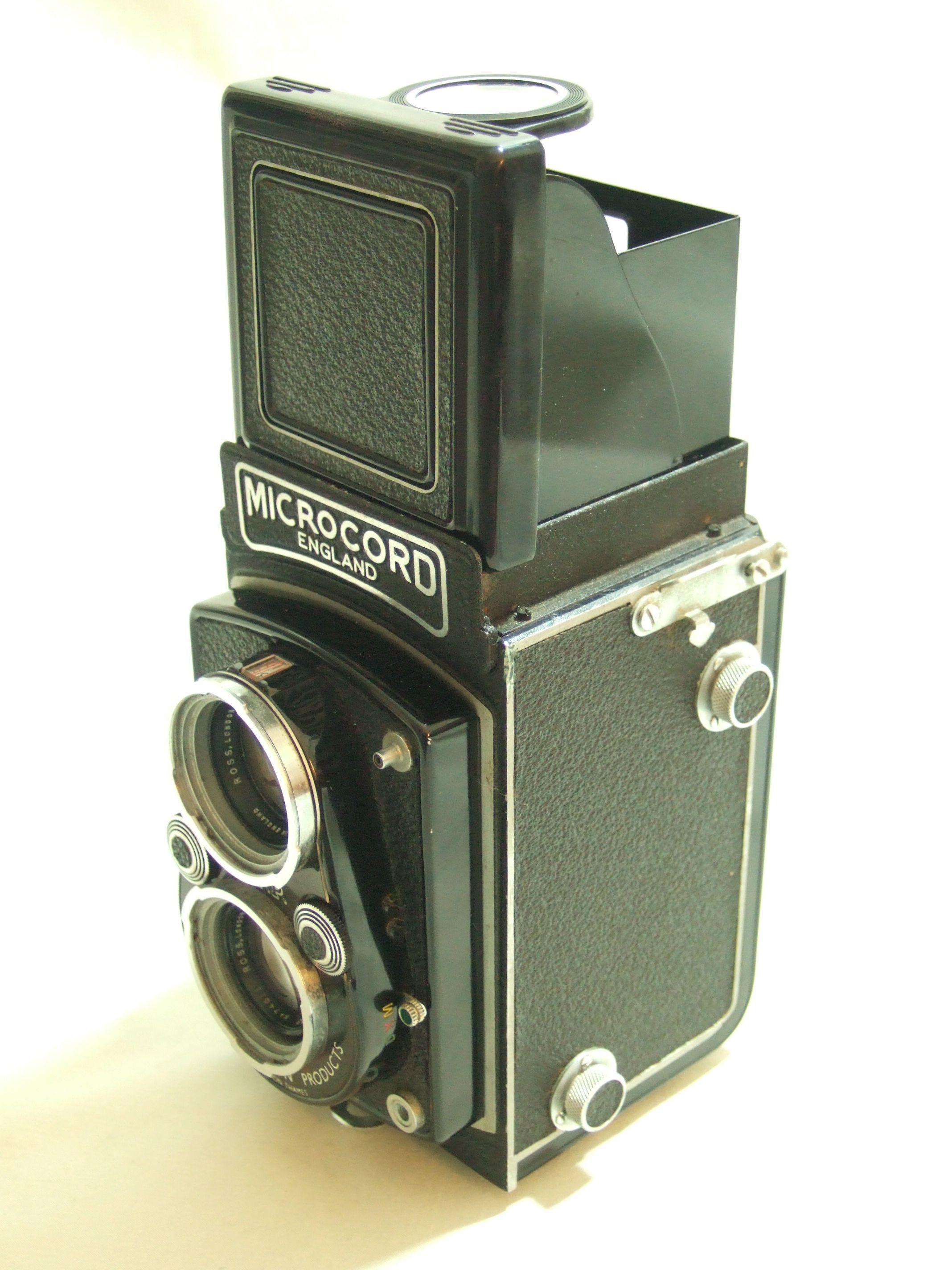 MPP Microcord TLR Camera, Xpres 77.5mm Lens, Case & Mirror Lens Cap