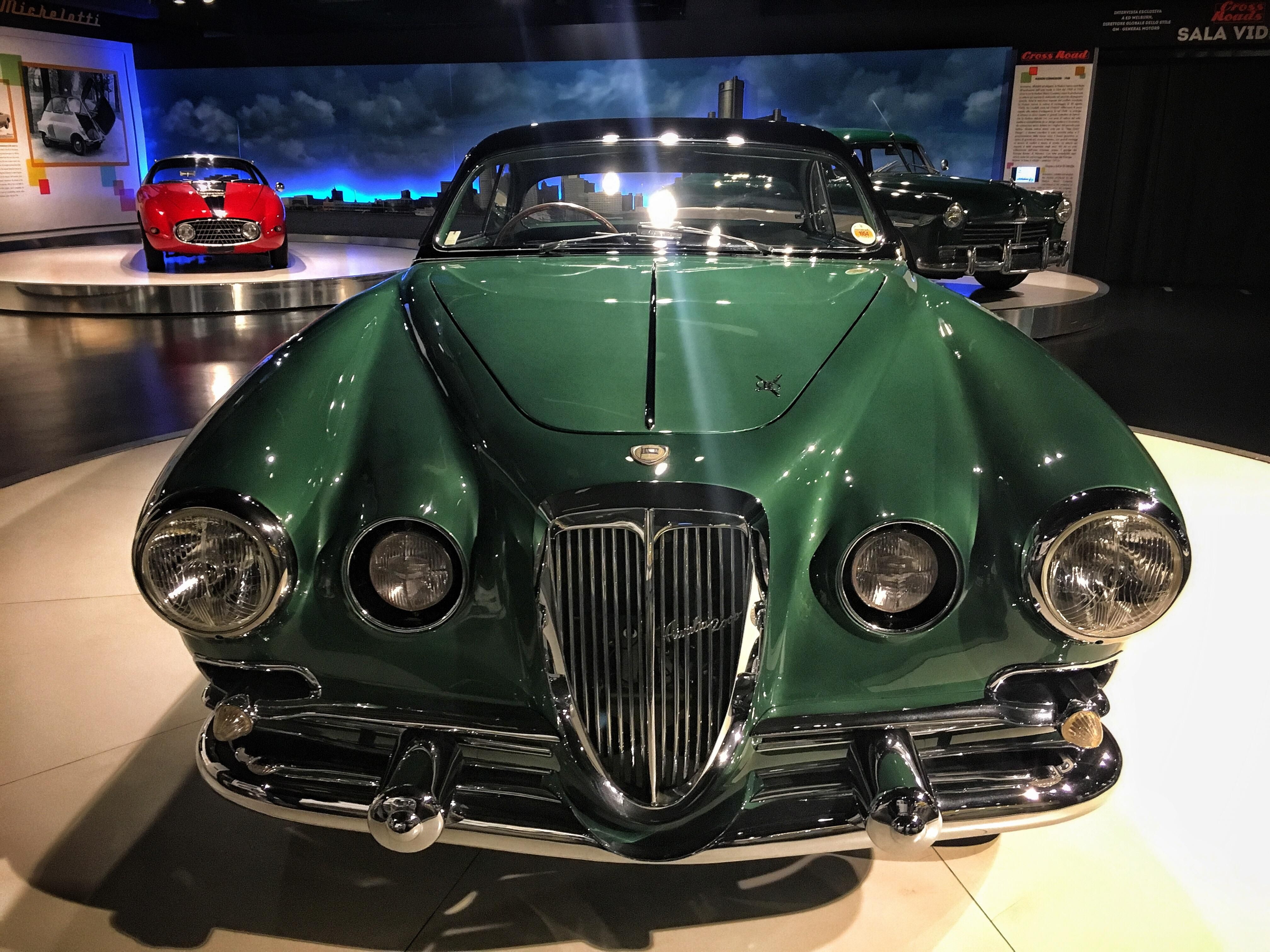 Vintage car at the Automobile Museum in Turin Italy. | Design Photo ...