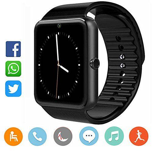 smartwatch damen herren catshin cs03 sport uhr fitnessuhr fitness tracker intelligente. Black Bedroom Furniture Sets. Home Design Ideas