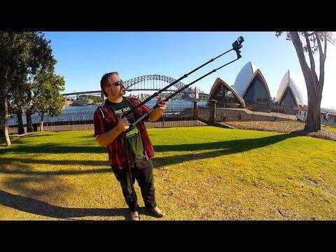Camera Jib Crane for GoPro, iPhone & Pocket Cam's
