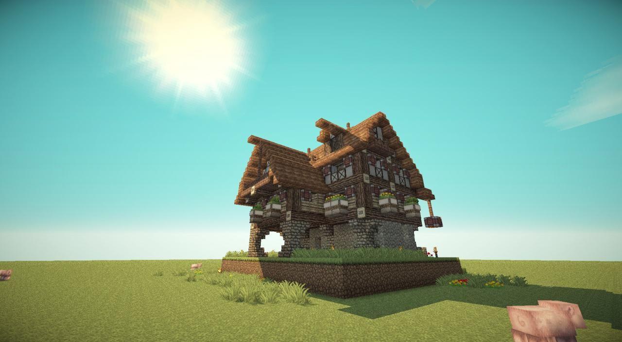 NMB -Blue Flower INN Minecraft Project