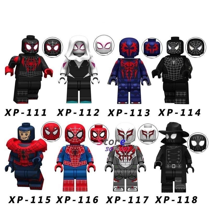 Marvel Avengers Amazing Spiderman Custom Mini Figure Big Super Hero Fits Lego