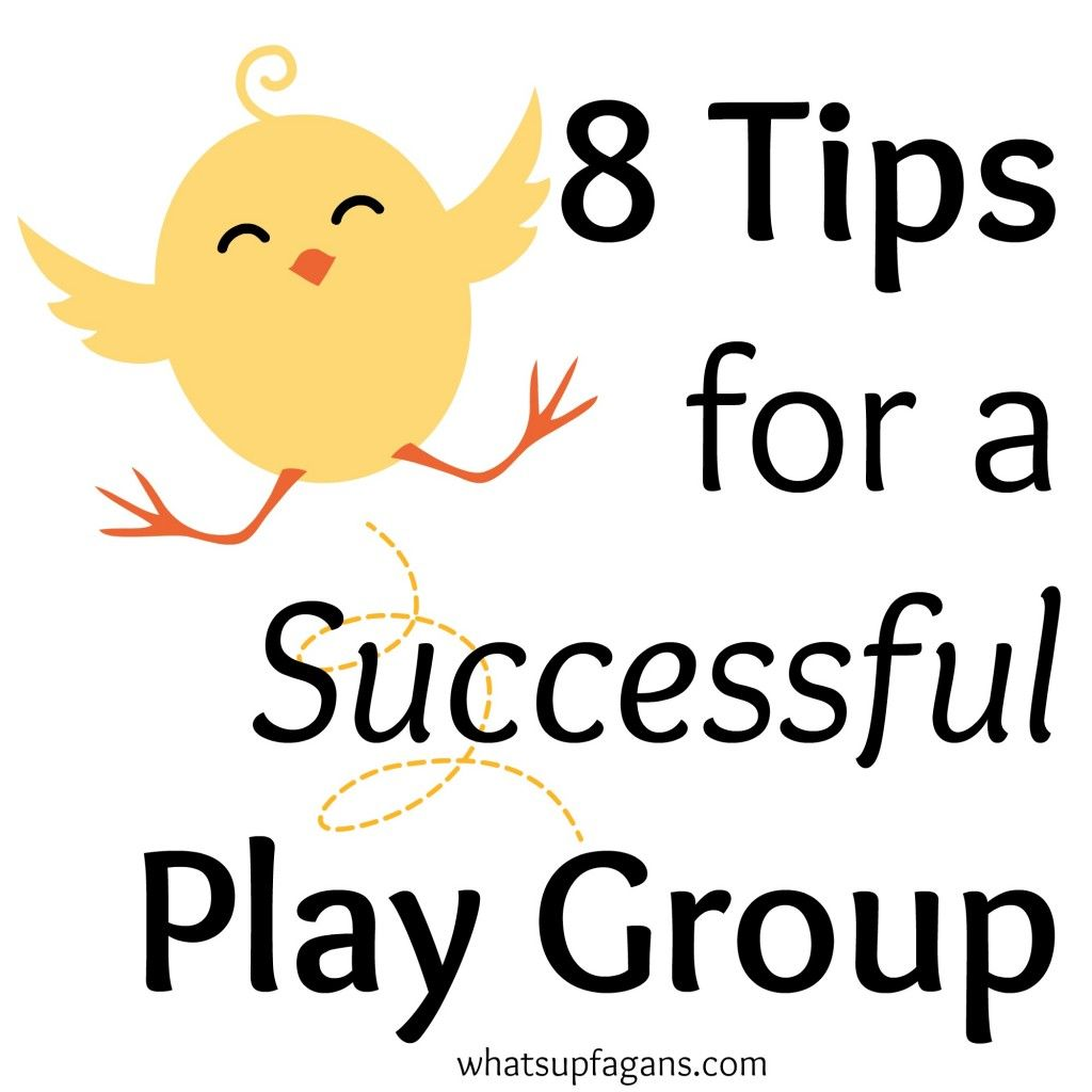 Playgroups are a great way for the kids and mom to