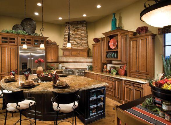 Southwest Ranch Hacienda Kitchens Design Homes Home