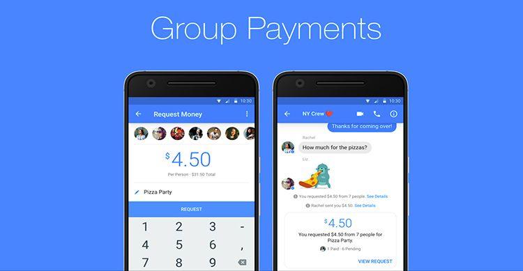 Facebook attiva i pagamenti di Gruppo tramite Messenger in USA