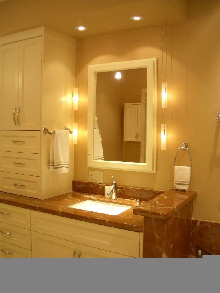 nice bathroom wall sconce lighting. | Cozy living spaces | Pinterest ...