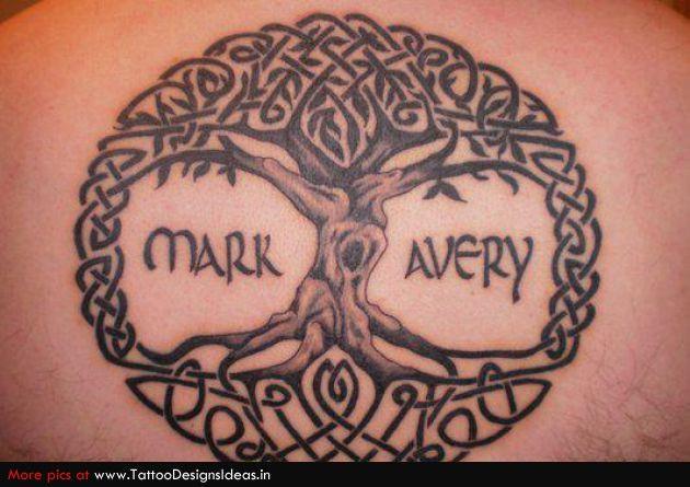 Celtic Tree Of Life Tree Tattoo Designs Tree Of Life Tattoo Heart Tattoos With Names
