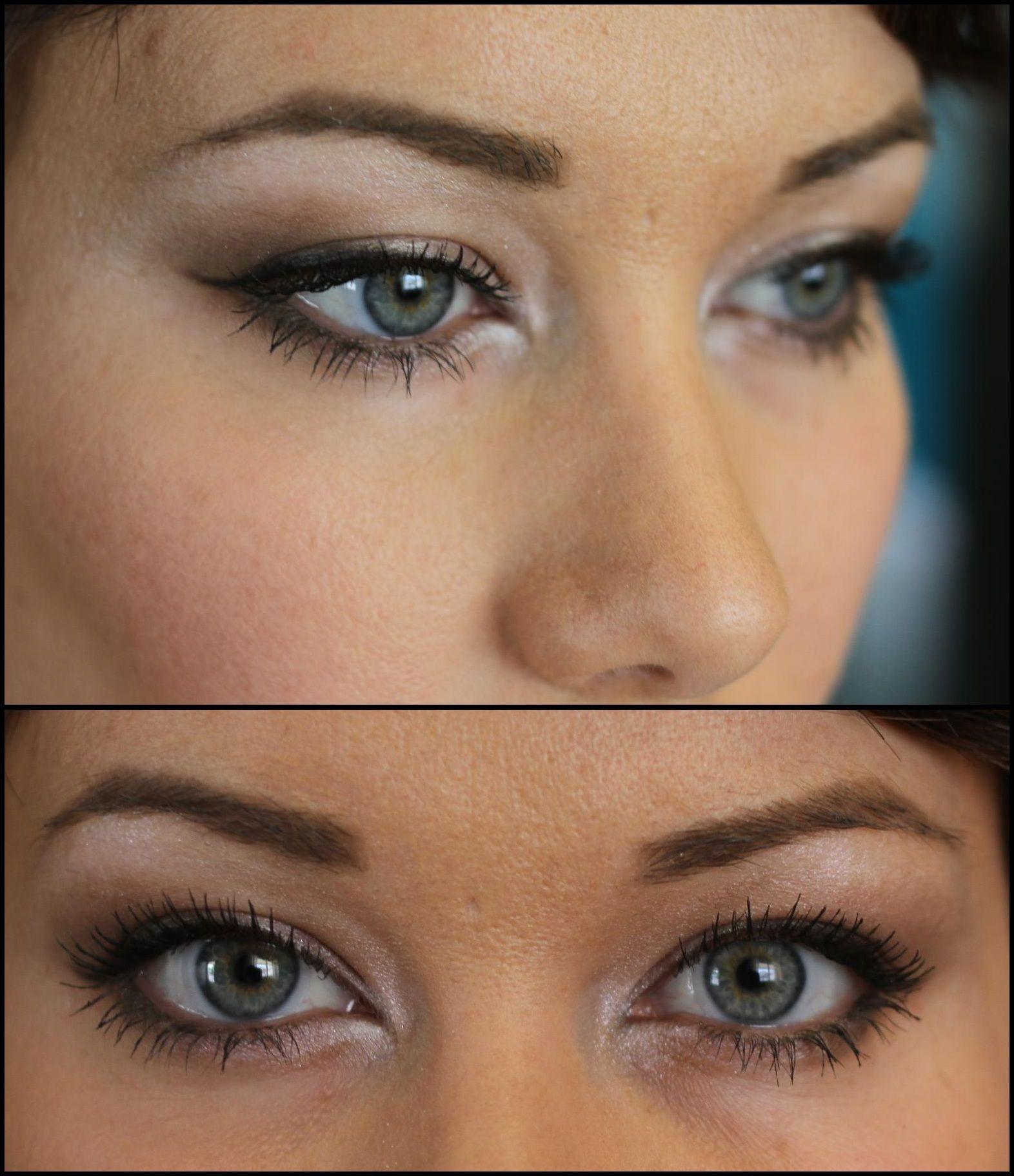 close set collage Eye makeup, Theatrical makeup