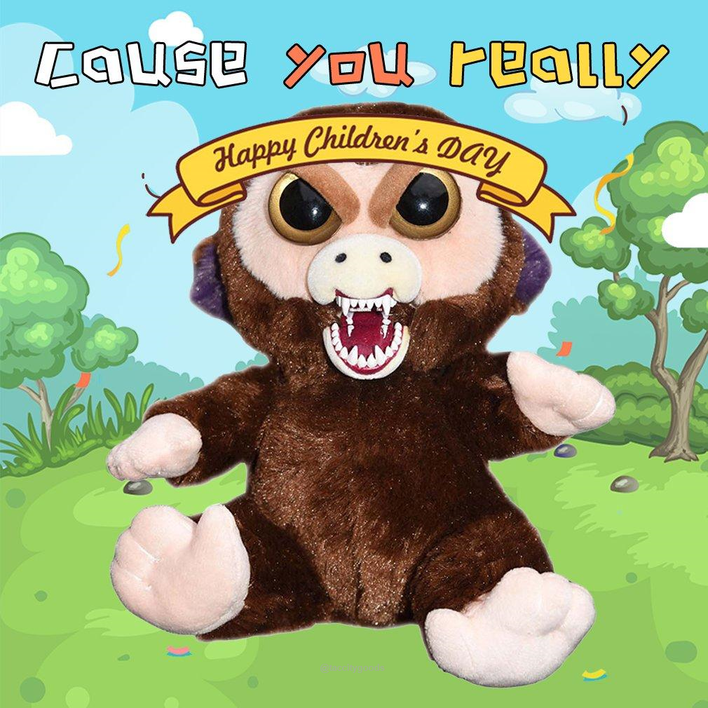 Feisty Pets Plush Stuffed Toys Pets Children S Day Happy Kids