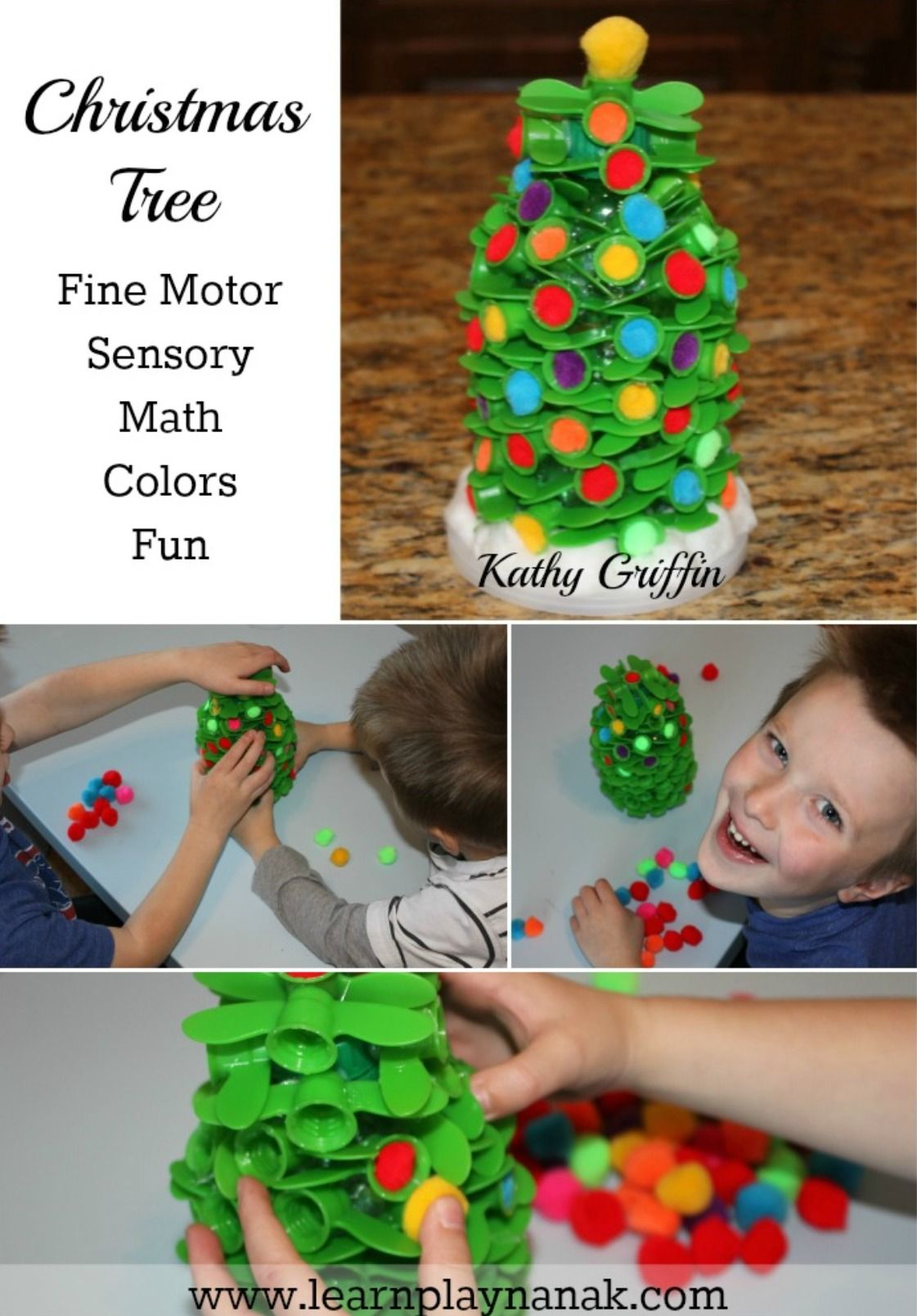 Christmas Tree Fine Motor Center