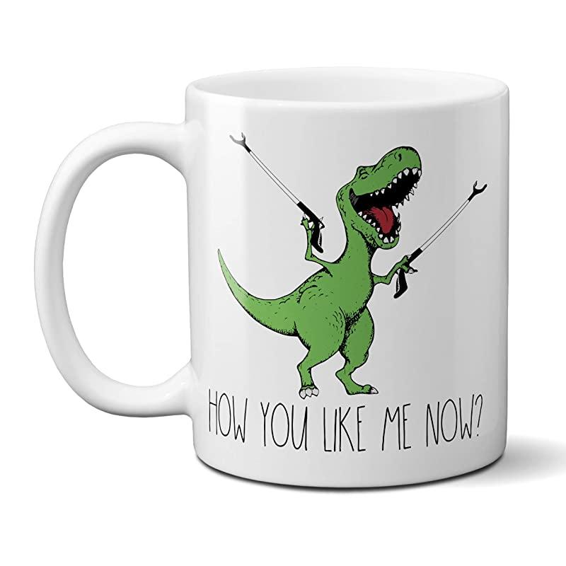 AmazonSmile How You Like Me Now TRex Coffee Mug Funny