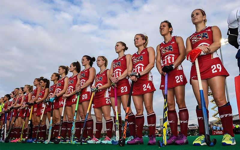 Usa Field Hockey Is Thrilled To Announce Its Selection As A Member Of The Inaugural Hockey Pro League The Field Hockey Girls Field Hockey Womens Field Hockey